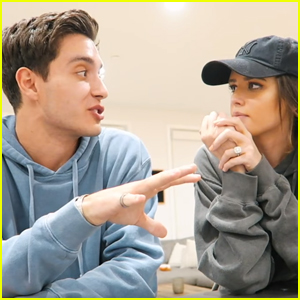 Gabriel & Jess Conte Discuss Their Mindset About Him Kissing Other Women For Acting Roles