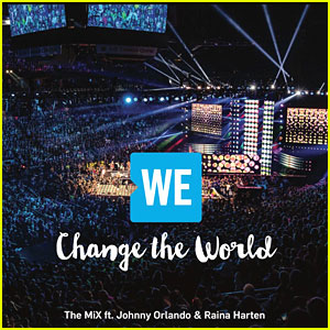 Johnny Orlando Releases 'WE Change the World' Single with The MiX & Raina Harten
