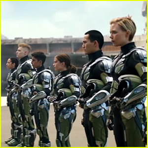 Karan Brar & Cailee Spaeny Ready For Battle In New 'Pacific Rim Uprising' Trailer