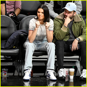 Kendall Jenner Makes Faces While Watching Boyfriend Blake Griffin Play Basketball!