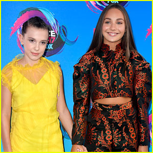 Millie Bobby Brown Reveals BFF Maddie Ziegler As Number 1 Acting Inspiration