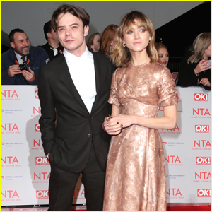Natalia Dyer Jokes That Charlie Heaton is 'Alright' To Work With on 'Stranger Things'