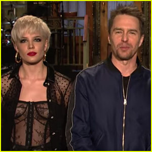 Halsey Gears Up for 'SNL' Performance in Funny Promo - Watch Now!