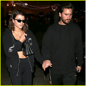 Sofia Richie & Scott Disick Holds Hands During Dinner Date