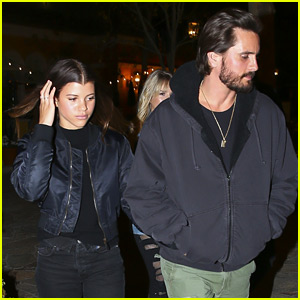 Sofia Richie Joins Scott Disick & Friends on a Double Date