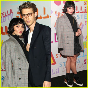 Vanessa Hudgens & Austin Butler Are So Chic at Stella McCartney Collection Launch