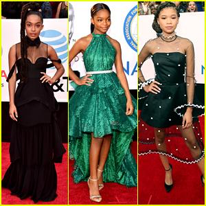 Yara Shahidi, Marsai Martin, & Storm Reid Are So Stylish at NAACP Image Awards 2018!