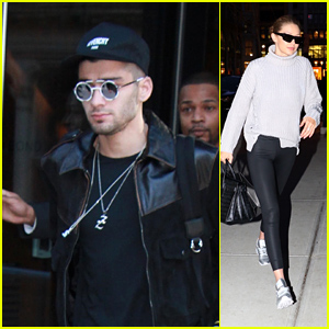 Zayn Malik Heads Out of Gigi Hadid's Apartment After Teasing His New Tattoo!