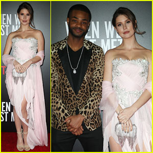 Amanda Cerny Joins King Bach For 'When We First Met' Screening