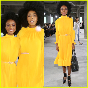 Riverdale's Ashleigh Murray Had A Cute Twinning Moment at NYFW's Tibi Fashion Show