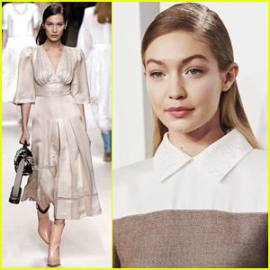 Bella Hadid Joins Big Sis Gigi in Fendi Fashion Show!