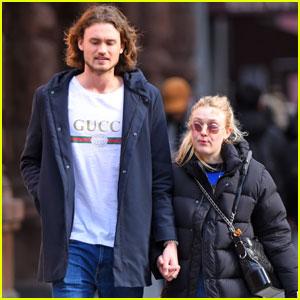 Dakota Fanning Spends the Day With Her Valentine Henry Frye!