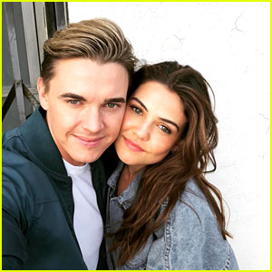Danielle Campbell & Jesse McCartney Tease They Are 'Up To Something'