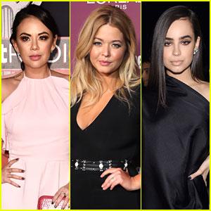 Janel Parrish, Sasha Pieterse, & Sofia Carson Begin Production on 'The Perfectionists'
