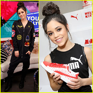 Jenna Ortega Shows Off New Puma x Hello Kitty Sneakers