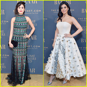 Laura Marano & Emeraude Toubia Stun at 'Harper's Bazaar' Dinner