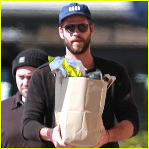 Liam Hemsworth Spends the Day Running Errands in Malibu