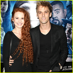Madelaine Petsch Inspired One of Aaron Carter's New Songs