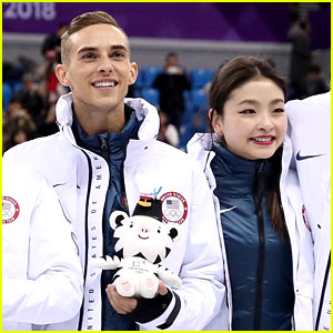 Maia Shibutani Shares Epic Throwback Photo with Adam Rippon