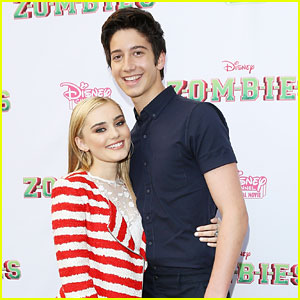 Meg Donnelly & Milo Manheim Join 'Zombies' Co-Stars at Premiere