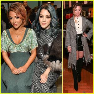 Niki & Gabi Debut Chic New Looks During NYFW This Weekend