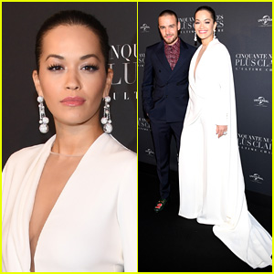 Rita Ora Joins Liam Payne at 'Fifty Shades Freed' Premiere