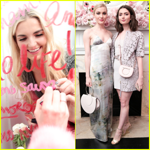 Rydel Lynch, Skyler Samuels & Alexandra Daddario Step Out For AMO Ferragamo Fragrance Launch