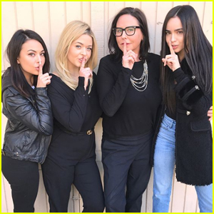 Sofia Carson, Janel Parrish & Sasha Pieterse Celebrate 'The Perfectionists' First Table Read