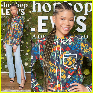 Storm Reid Surprises Fans at Disneyland During 'Wrinkle in Time' Screening