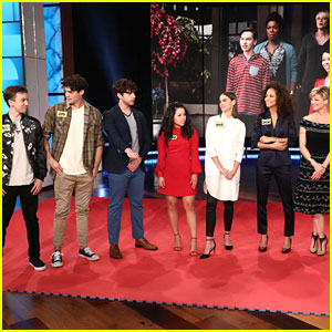 'The Fosters' Cast Make 'Ellen DeGeneres Show' Debut, Play Blindfold Musical Chairs