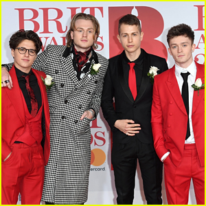 The Vamps Joins Lottie Moss & Pixie Lott at BRIT Awards 2018