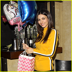 Victoria Justice Celebrates 25th Birthday With Boyfriend Reeve Carney