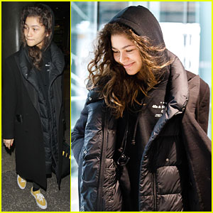 Zendaya Arrives In LA After Attending BAFTAs Party With Tom Holland