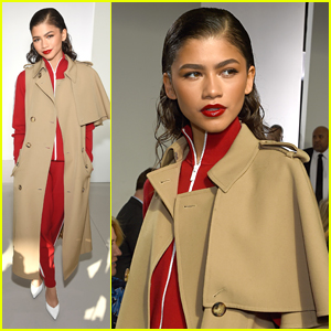 Zendaya Sits Front Row at Michael Kors Collection Show During NYFW