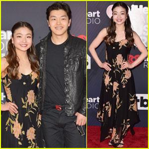 Olympians Maia & Alex Shibutani Arrive at iHeartRadio Music Awards 2018