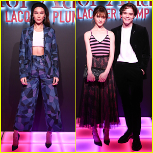 Bella Hadid Hosts Star-Studded Dior Addict Lacquer Plump Launch!