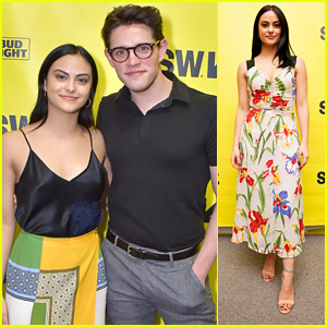 Camila Mendes Gets Support From Casey Cott During SXSW at 'The New Romantic' Premiere