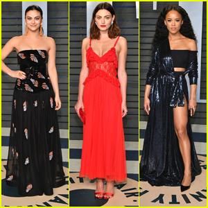 Camila Mendes Phoebe Tonkin Are Super Stunning At Vanity Fairs
