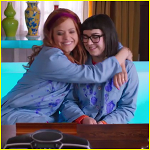 Sarah Jeffery & Sarah Gilman Try To Solve Their First Mystery in 'Daphne & Velma' - Watch The Trailer!