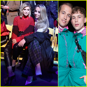 Olivia Holt, Sabrina Carpenter, Tommy Dorfman & More Celebrate Mickey Mouse at the Opening Ceremony Fashion Show at Disneyland!