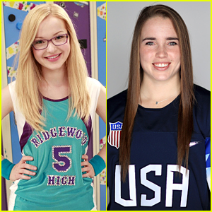 Dove Cameron's Maddie Rooney Mistaken for USA Hockey Goalie Maddie Rooney in Newspaper