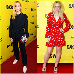 Elle & Dakota Fanning Join Forces at SXSW Film Festival 2018!