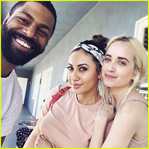 Francia Raisa Runs Into Former 'Secret Life' Co-Stars Megan Park & DeVaughn Nixon!