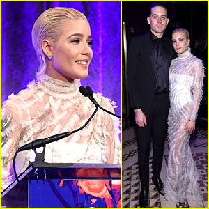 Halsey Gets Support From Boyfriend G-Eazy at EndoFound's Blossom Ball 2018