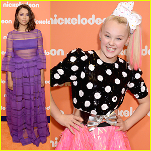 Kat Graham & JoJo Siwa Step Out For Nickelodeon Upfronts 2018 in NYC