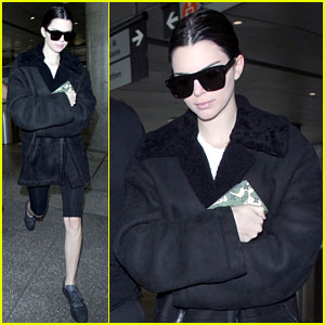 Kendall Jenner Arrives Home After Her Tropical Vacation