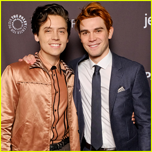 KJ Apa & Cole Sprouse Once Finished An Entire Pizza During 'Riverdale' Rehearsals & The Cast Won't Let Them Forget It