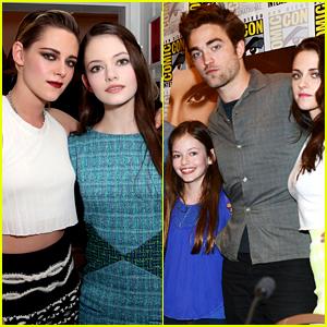 Twilight's Kristen Stewart & Mackenzie Foy Reunite Over Five Years Later!
