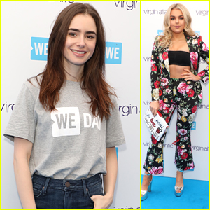 Lily Collins Feels Honored After Speaking at We Day London 2018