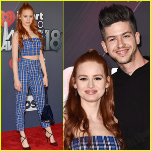 Madelaine Petsch & Travis Mills Couple Up at iHeartRadio Music Awards 2018!